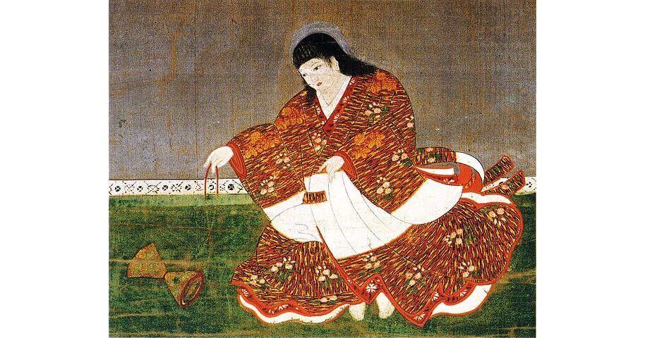 Japan's Emperor Antoku Portrait