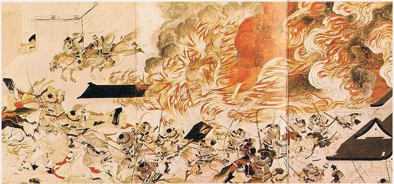 Japan's civil war Heiji no ran