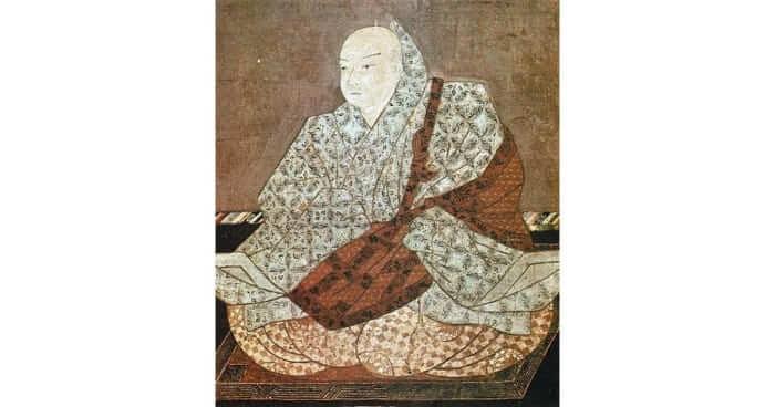 Japan's Emperor Toba Portrait