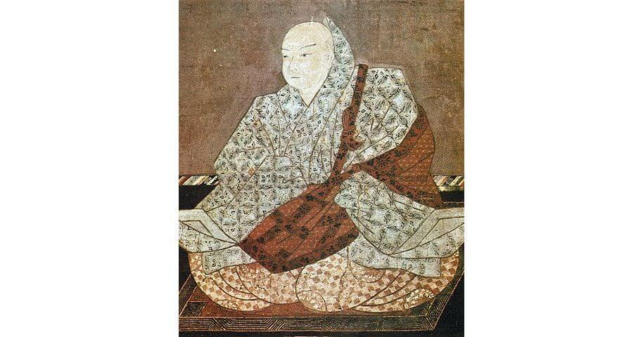 Japan's Emperor Toba Portrait