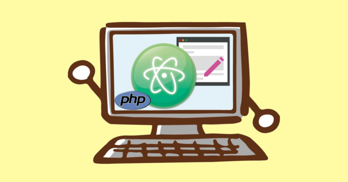 atom for php image